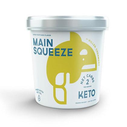 Killer Creamery Lemon Poppyseed Keto Ice Cream 16 fl oz