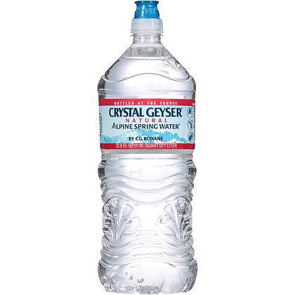Crystal Geyser® Natural Alpine Spring Water 1 lt