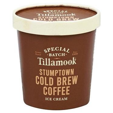 Tillamook Ice Cream, Stumptown Cold Brew Coffee 15.5 oz