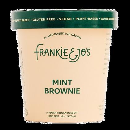 Frankie & Jo's Mint Brownie Plant-Based Ice Cream 16 fl oz