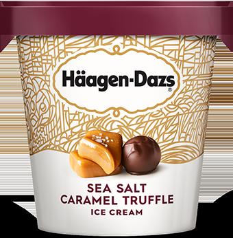 HAAGEN-DAZS Sea Salt Caramel Truffle 14 fl oz