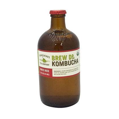 Brew Dr. Kombucha White Rose Kombucha 14 fl oz