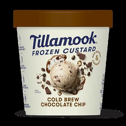 Tillamook Frozen Custard, Cold Brew Chocolate Chip 15 oz