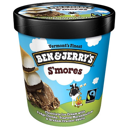 Ben & Jerry's S'mores Ice Cream 1 pt