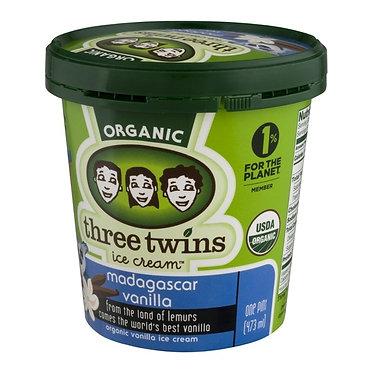 Three Twins Organic Madagascar Vanilla 1 pt