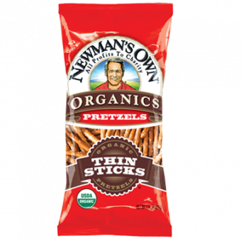 Newman Own Organic Thin Stick Pretzels