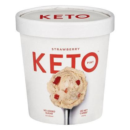 Keto Ice Cream, Strawberry 473 ml