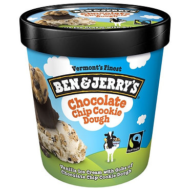 Ben & Jerry's Chocolate Chip Cookie Dough Ice Cream pint