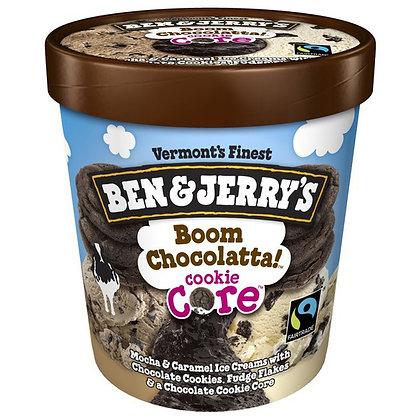Ben & Jerry's Ice Cream Boom Chocolatta!™ Cookie Core 1 pt