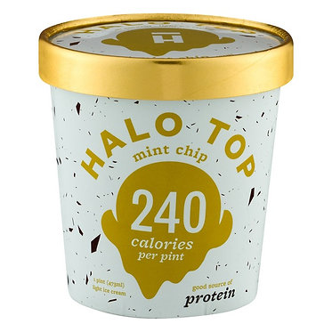 Halo Top Creamery Mint Chip 1pt