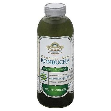 GT's Enlightened Organic Raw Kombucha, Multi-Green 16 fl oz