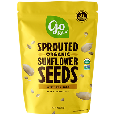 Go Raw Sprouted Sunflower Seeds 14 oz