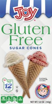 Joy Gluten Free Sugar Cones 12ct.