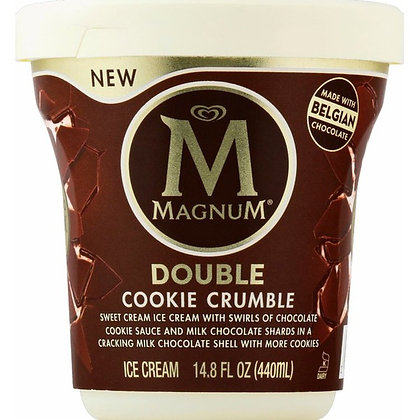 Magnum Double Cookie Crumble Ice Cream 14.8 fl oz