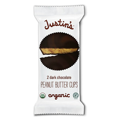 Justin's Organic Dark Chocolate Peanut Butter Cups 2 ct