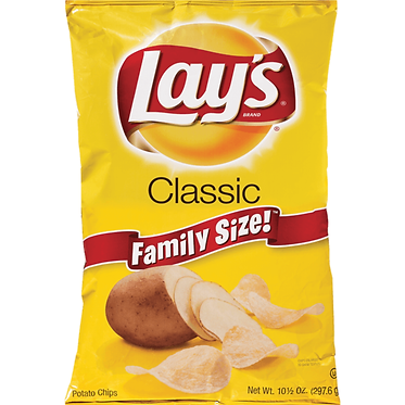 Lay's Classic Potato Chips 10 oz