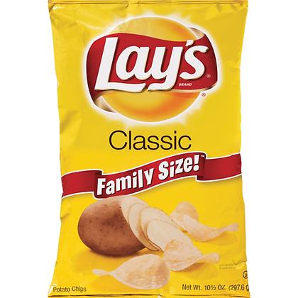 Lay's Classic Potato Chips 8 oz
