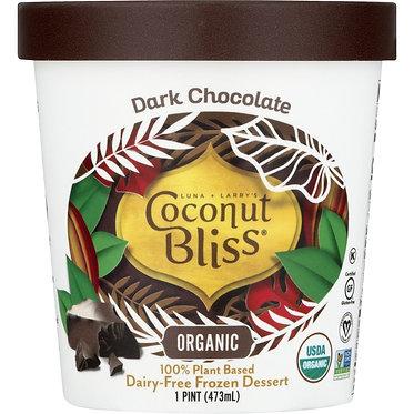 Coconut Bliss Dark Chocolate Dairy-Free Frozen Dessert 16oz