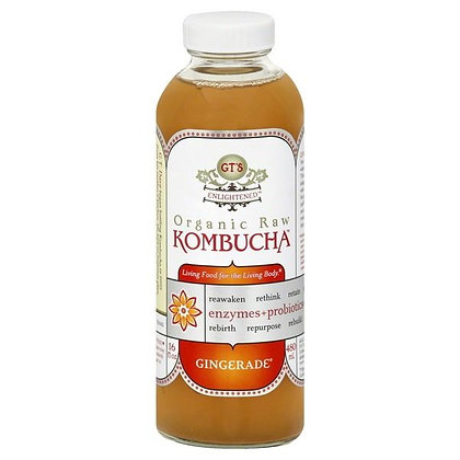 GT's Enlightened Organic Raw Kombucha Gingerade 16 fl oz