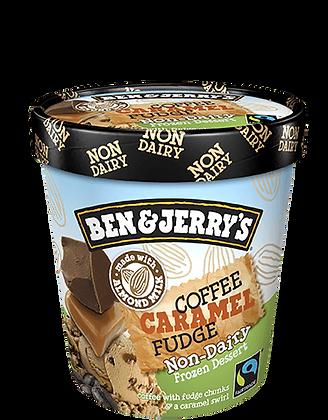 Ben & Jerry's Non-Dairy Ice Cream Coffee Caramel Fudge
