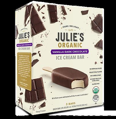 VANILLA DARK CHOCOLATE ICE CREAM BAR