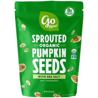 Go Raw Sprouted Pumpkin Seeds 14 oz
