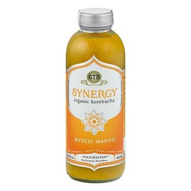 GT's Organic & Raw Kombucha Drink Mystic Mango 16 oz
