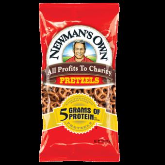 Newman Own 5g Protein Pretzels