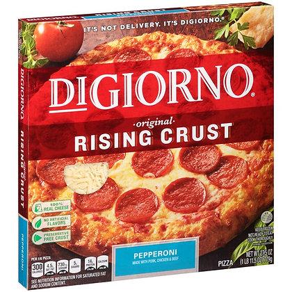 DiGiorno Rising Crust Pepperoni Pizza 27.5 oz