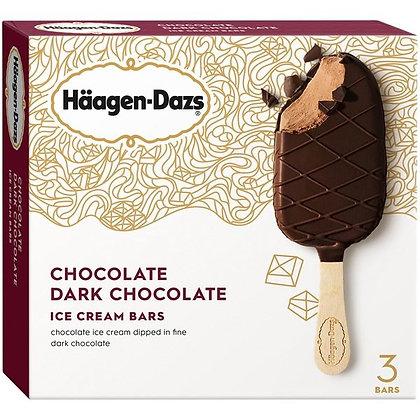 Haagen-Dazs Chocolate Dark Chocolate Ice Cream Bars 3 ct