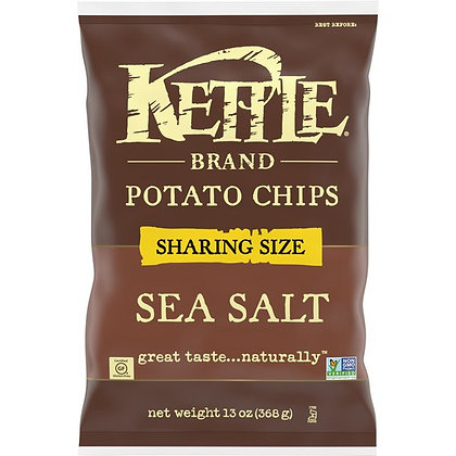 Kettle Brand Sea Salt Potato Chips, 13 Ounce