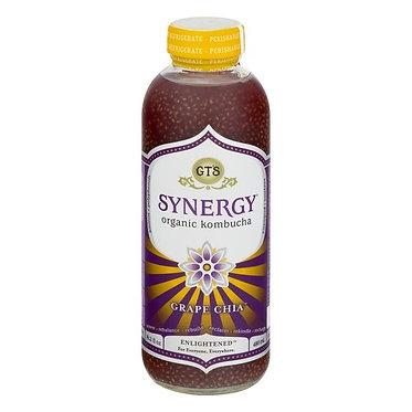 GT's Synergy Organic Kombucha Grape Chia 16 oz