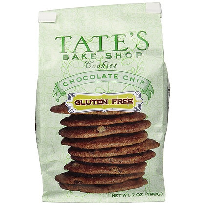 Tate's Bake Shop Chocolate Chip Cookies, Gluten Free 7 oz
