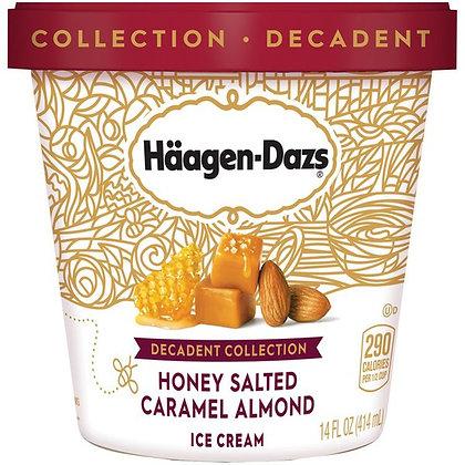 Häagen-Dazs Decadent Collection Honey Salted Caramel Almond Ice Cream 14 fl oz