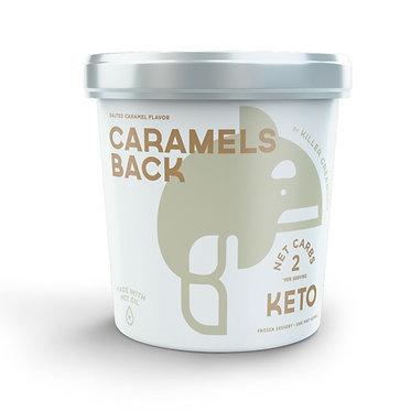 Killer Creamery Caramels Back, Salted Caramel Flavor 1 pt