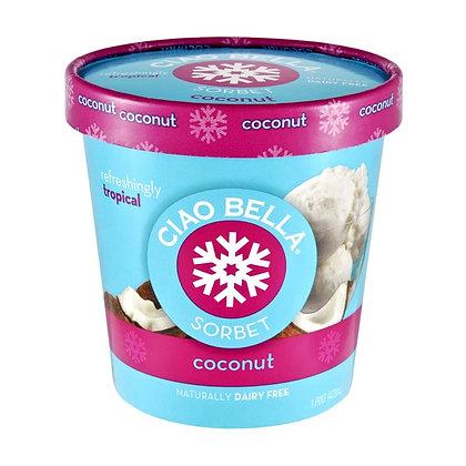 Ciao Bella Coconut Sorbet 16oz