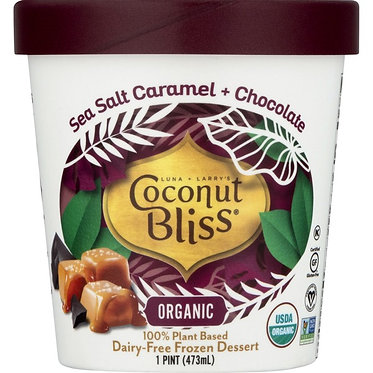 Coconut Bliss Salted Caramel & Chocolate Dairy-Free Frozen Dessert 16oz16oz