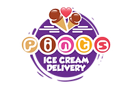 Pints Ice Cream Delivery Logo
