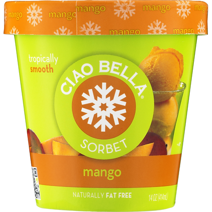 Ciao Bella Sorbetto Alphonso Mango 16oz