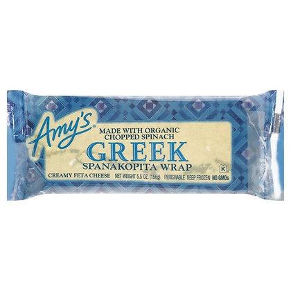 Amy's Greek Spanakopita Wrap 5.5 oz