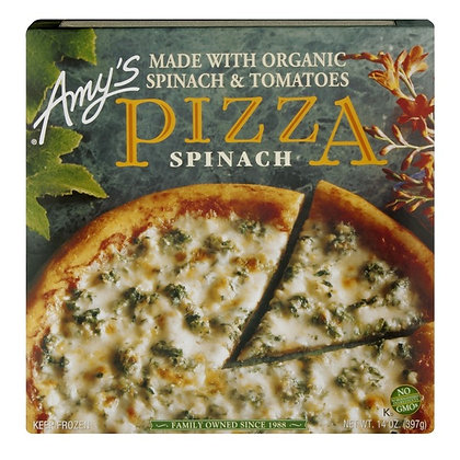 Amy's Spinach Pizza 14 oz