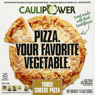 Caulipower Three Cheese Cauliflower Crust Pizza 10.9 oz