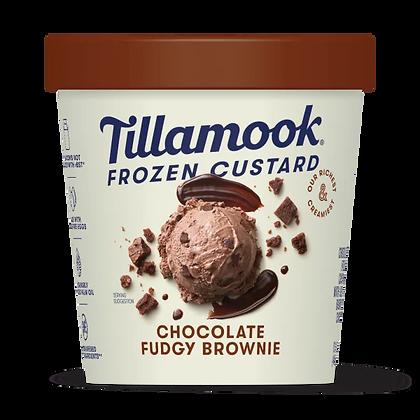 Tillamook Frozen Custard, Chocolate Fudgy Brownie 15 oz