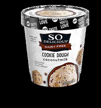 Cookie Dough (Gluten Free) COCONUT MILK DAIRY-FREE FROZEN DESSERT