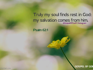 At Rest in God Alone