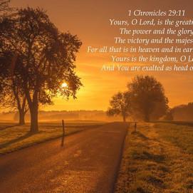 David's Thanksgiving Prayer