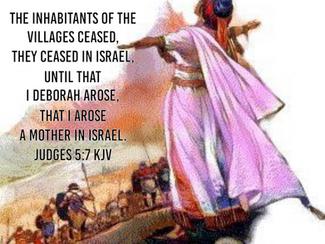 Deborah, A Mother in Israel!