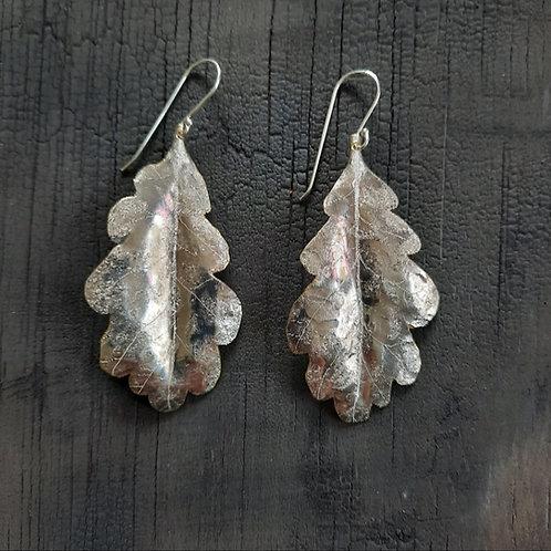 Oak Leaf Earrings - large