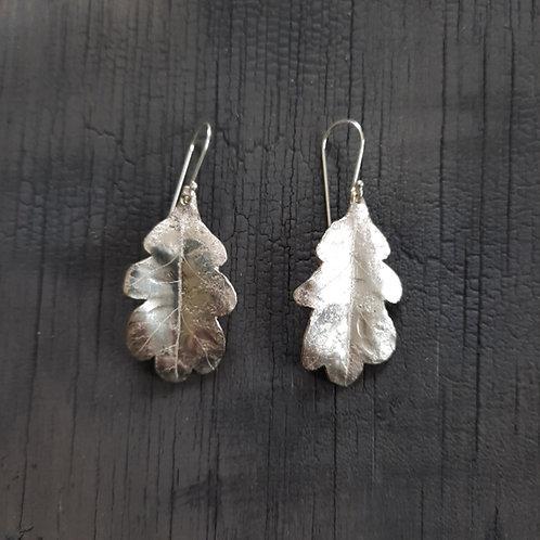 Oak Leaf Earrings - small