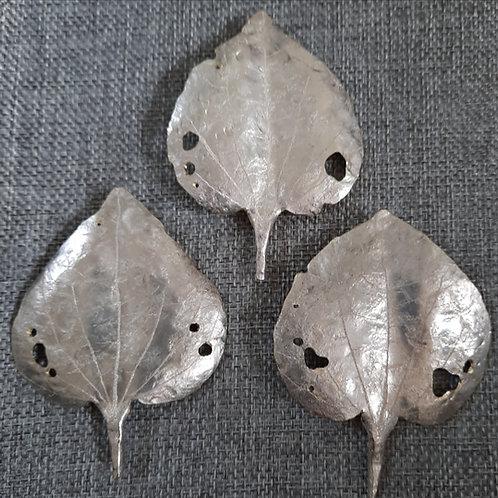 Kawakawa Leaf Brooch